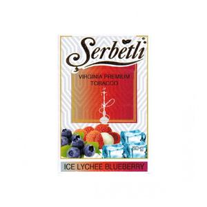 Табак Serbetli Ice Lychee Blueberry (Черника, личи, лёд) 50 г