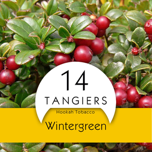 Табак Tangiers Noir Wintergreen (Грушанка) 250 г