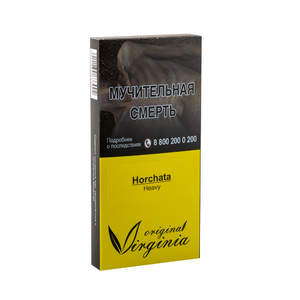 Табак Original Virginia Heavy Horchata (Молоко Миндаль Кунжут Рис) 50 г