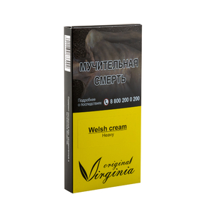Табак Original Virginia Heavy Welsh Cream (Сливки Виски Кофе) 50 г