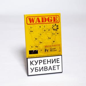 Табак WADGE CARBON SUPER FROZEN (Лед) 100 г