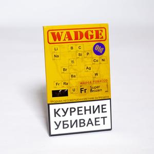 Табак WADGE OLD SUPER FROZEN (Лед) 100 г