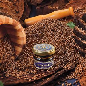 Табак WTO Ultimate Organic Caribbean Blend Black coriander (ВТО Ультимейт Карибский бленд Чёрный кориандр) 20 г