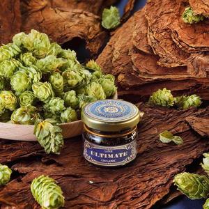 Табак WTO Ultimate Organic Caribbean Blend Dutch Hop Cones (ВТО Ультимейт Карибский бленд Голландские шишки хмеля) 20 г