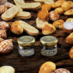 Табак WTO Caribbean Blend Cream Cookies (ВТО Карибский бленд Сливочное печенье) 250 г