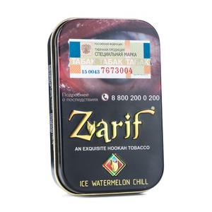 Табак Zarif Ice watermelon chill (Ледяной арбуз с мятой) 50 г