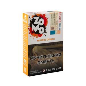 Табак ZOMO Mistery Of Bali (Абрикос Слива Мороженное Мята) 50 г