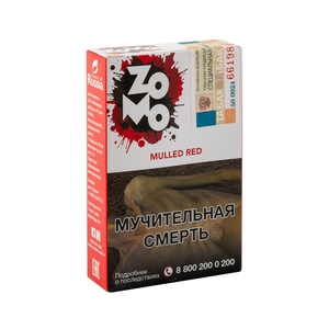 Табак ZOMO Mulled Red (Глинтвейн Специи Цитрус) 50 г
