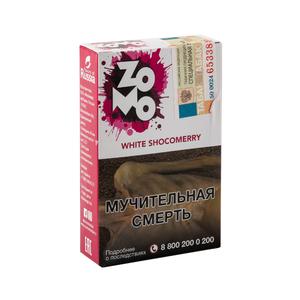 Табак ZOMO White Shocomerry (Белый шоколад Малина) 50 г