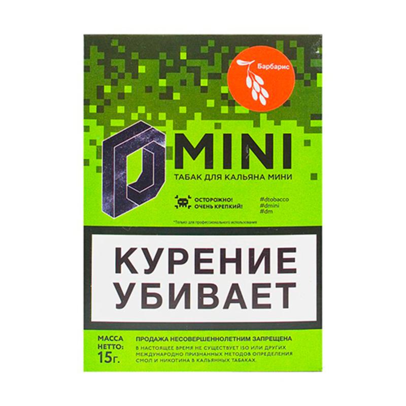 Табак D-Mini (Барбарис) 15 г