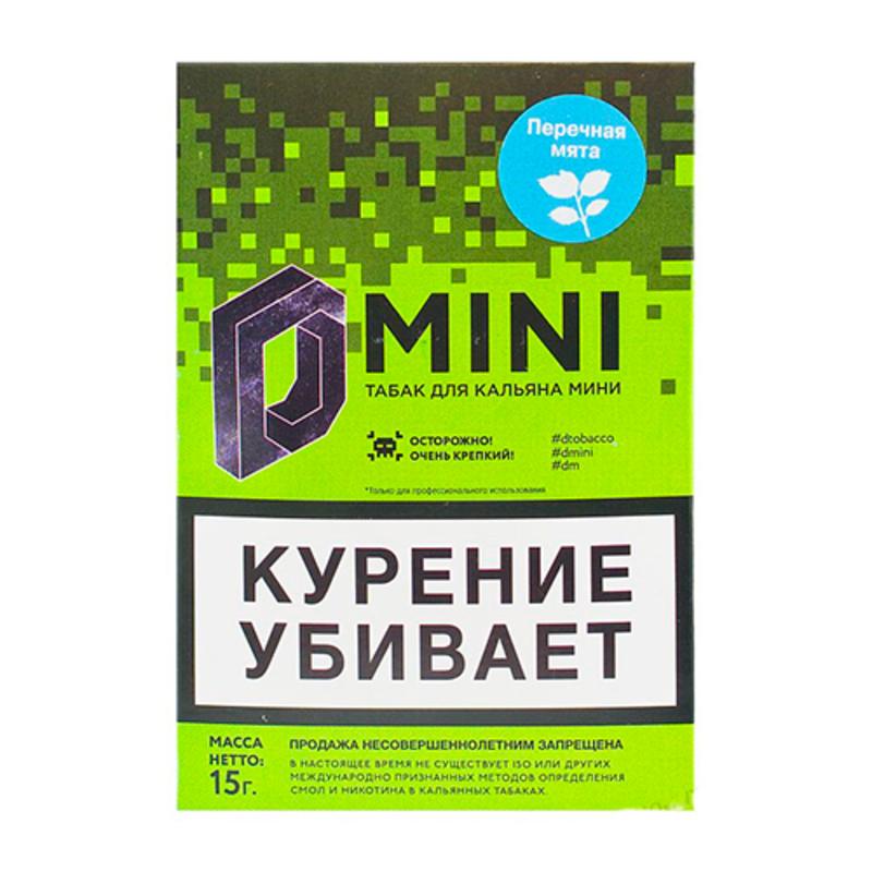 Табак D-Mini (Перечная мята) 15 г