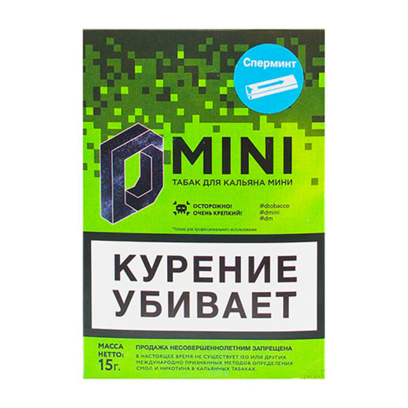 Табак D-Mini (Сперминт) 15 г