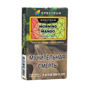 Табак Spectrum Hard Line Morning Mango (Овсянк с манго) 40 г