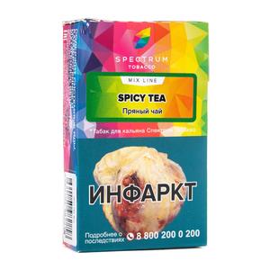 Табак Spectrum Mix Line Spicy Tea (Бергамот Облепиха Эвкалипт) 40 г