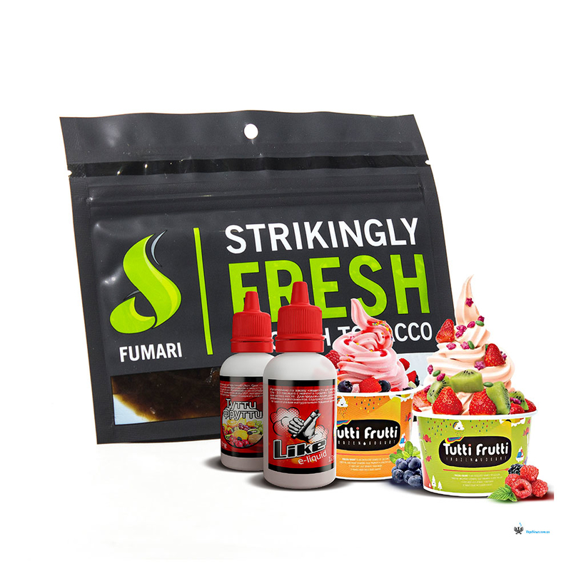 Табак Fumari Tutti Fruitti (Фруктовый леденец) 100 г