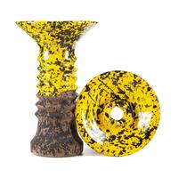 Чаша Telamon Alien Glaze Желтый крап