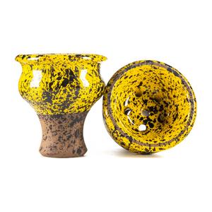 Чаша Telamon Classic Glaze Желтый крап