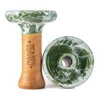 Чашка Облако Phunnel L Glaze Top 32 Зеленый Белый Мрамор