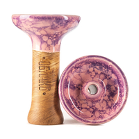 Чашка Облако Phunnel M Glaze Top 78 Розово фиолетовый мрамор