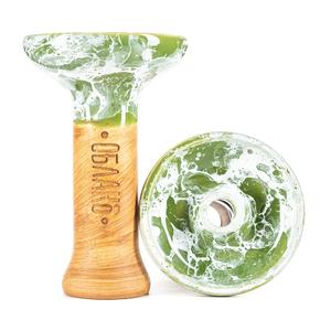 Чашка Облако Phunnel M Glaze Top 32 Зеленый Белый Мрамор