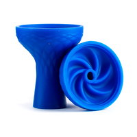 Чашка силикон ребра (samsaris) Синий