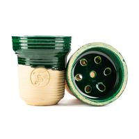 Чашка ST Classic SWEETY Green Рифленая