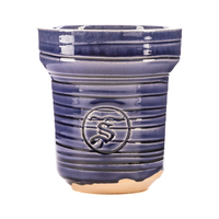 Чашка ST Classic SWEETY Blue Рифленая